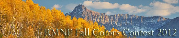 2012 RMNP Fall Colors Contest