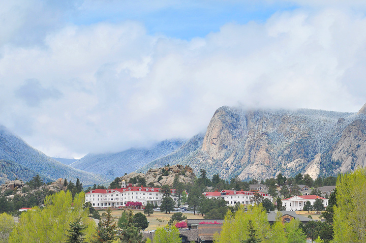 Stanley Hotel in Estes Park, Colorado.