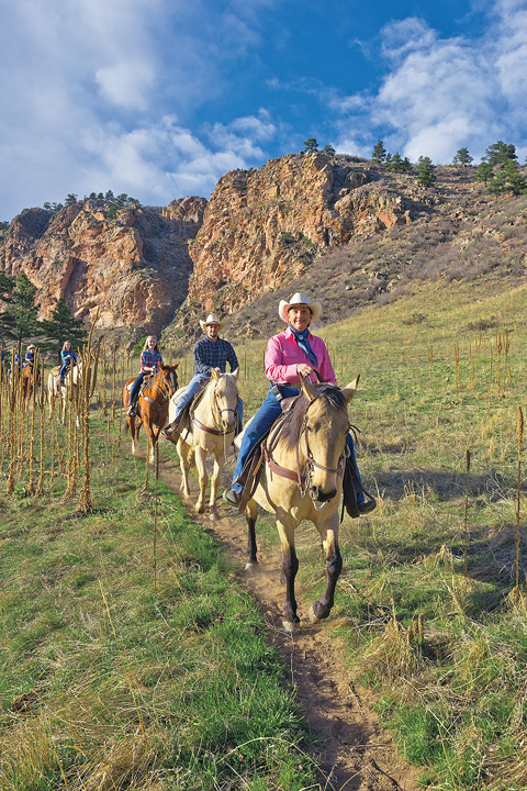 Sylvan Dale Guest Ranch, Loveland, Colorado