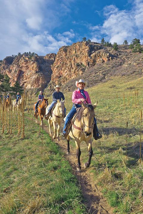 Sylvan Dale Guest Ranch, Loveland, Colorado