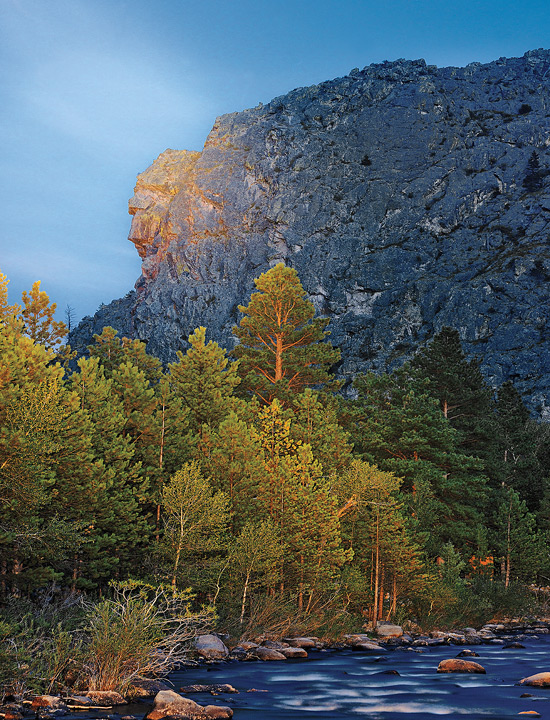 Profile Rock, Poudre Canyon, Colorado