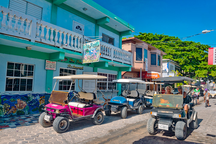 Transportation in San Pedro, Belize